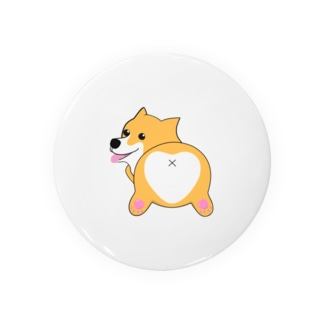 コーギー 犬 おしり グッズ Badges