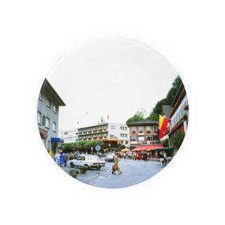 リヒテンシュタイン:ファドゥーツの街角風景 Liechtenstein: Vaduz Badges