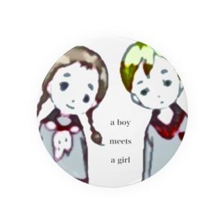 彩erのboy meets girl Badges
