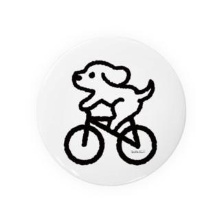 わんこ自転車にのる Badges