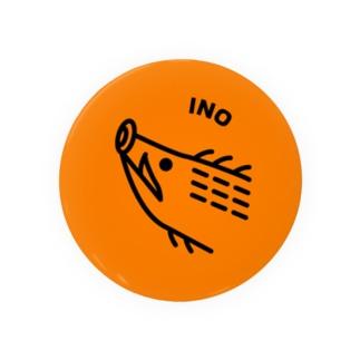 INO(猪鹿蝶) Badges
