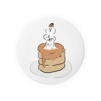 ホットケーキの神様 Badges