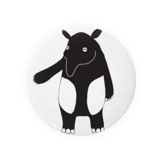 マレーバクのDin Badges