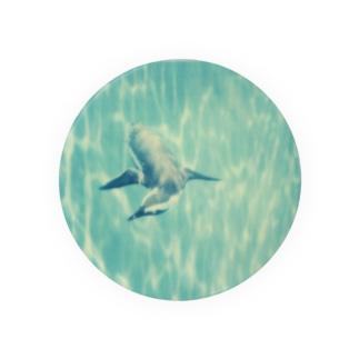 Petrichorの飛ぶペンギン Badges