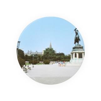 オーストリア:ウィーンの王宮前広場 Austria: Heldenplatz / Wien Badges
