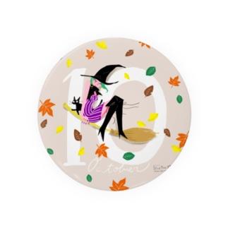 10月生まれの大人な魔女子さん Badges