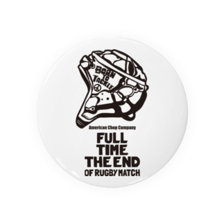 FULL TIME THE END OF RUGBY MATCH Badges