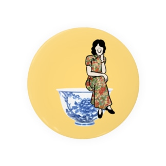 yumcha girl Badges