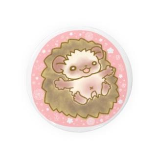 ハリネズミのブラウニー おはな Badges