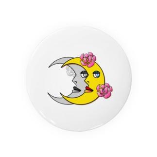 皮肉屋の月(文字なし) Badges