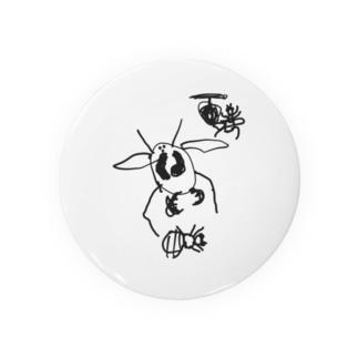 オオスズメバチとセイヨウミツバチ Badges