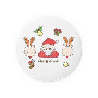 ふんわりクリスマス Badges