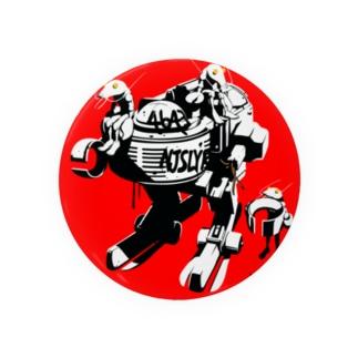 モーターヤブ&ロブスター RED Badges