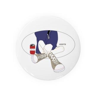 #OOTD 今日の服装 Badges