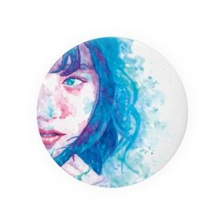 girl.1_watercolor Badges