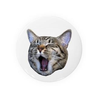 保護猫ローリエのあくび Badges