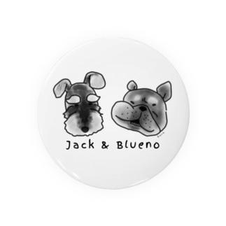 Jack & Blueno Badges