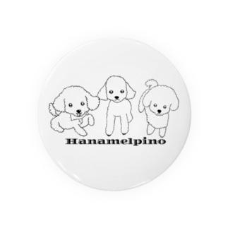 HANAMELPINO(背景なし) Badges