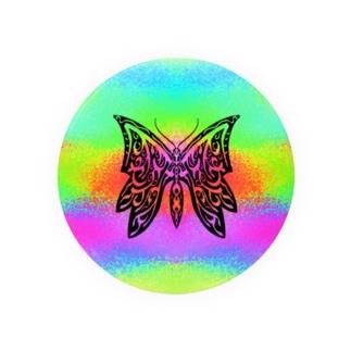 極彩蝶01_Mellow Badges