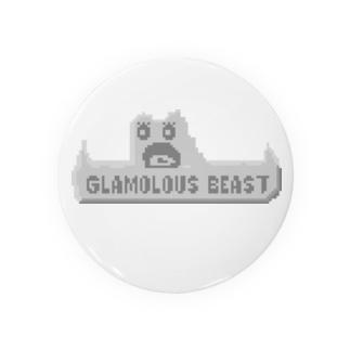 GLAMALOUS BEAST Badges