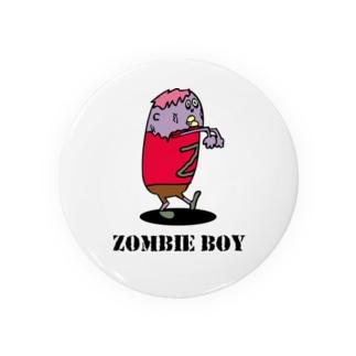 ゾンビ少年 Badges