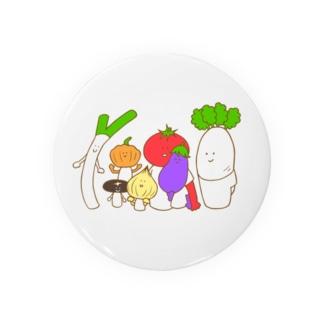 野菜ファミリー Badges