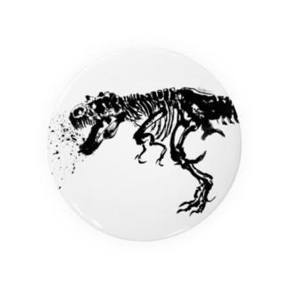 水墨画ティラノサウルス Badges