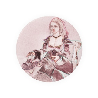 CG絵画:ペルシャ風衣装の美女 CG art: Persian lady Badges