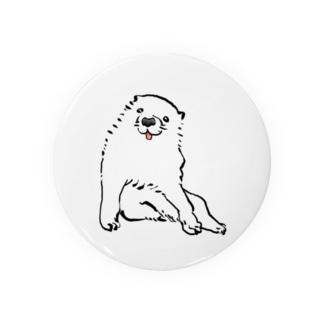 長沢芦雪の「あの犬」 Badges