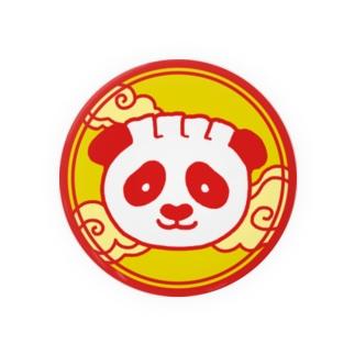 餃子熊猫 円 Badges