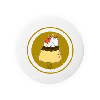プリンアラモード・キノコ Badges