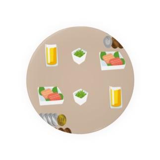 キャッシュオン式の立ち飲み屋 Badges