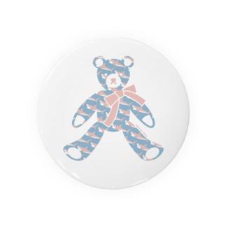 〈 #みんなSAME 009/365 〉テディベア好きのためのSAME Badges