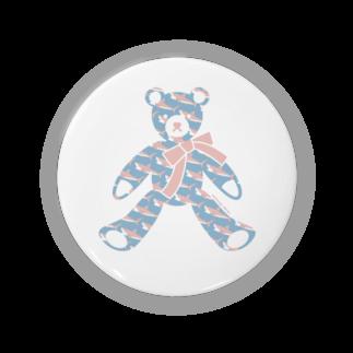 イラストレーター さかたようこの〈 #みんなSAME 009/365 〉テディベア好きのためのSAME Badges