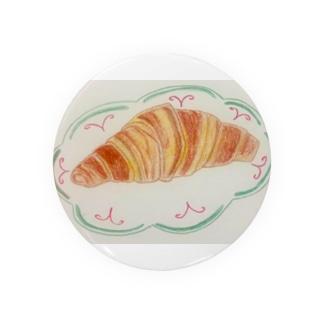 クロワッサンの朝食 Badges