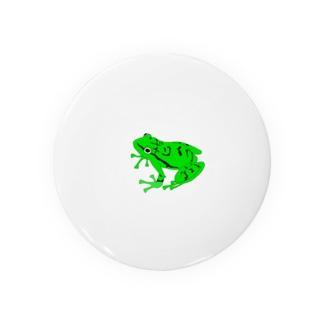 カエル(緑) Badges