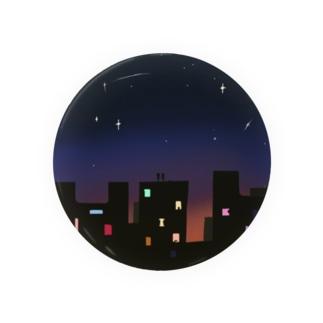 夜遊び缶バッジ Tin Badge