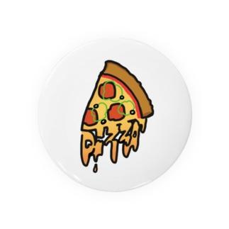 ピザが今すぐ食べたいの巻 Tin Badge