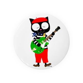 黒猫のビーが Badges