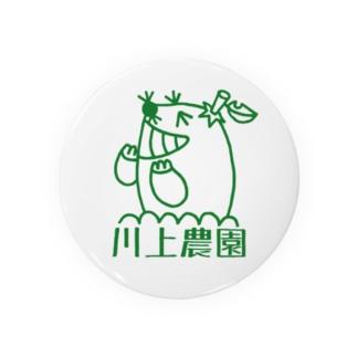 川上農園ロゴグッズ Badges