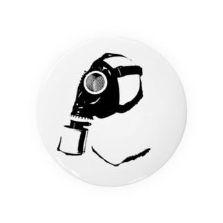 ガスマスク (黒) Badges