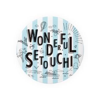 WONDERFUL SETOUCHI BLUE Badges