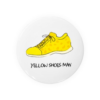 YELLOW SHOES 缶バッチ Badges