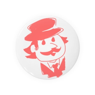 おじさま(赤) Badges