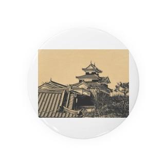 日本の城 小峰城 Badges