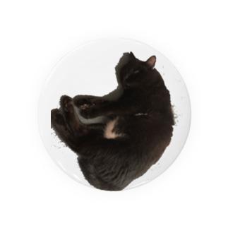 寝たふり黒猫 Badges