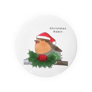 ヨーロッパコマドリ(クリスマスロビン) Badges