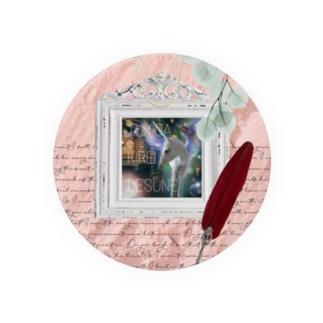 【引退馬支援企画】TUKGA KIREI DESUNE ウォールTYPE Tin Badge