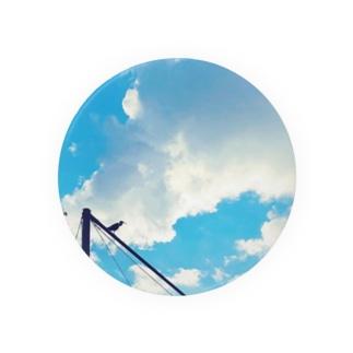 空と鳥 Badges