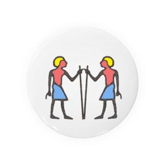 ヒエログリフ『セル』 Badges
